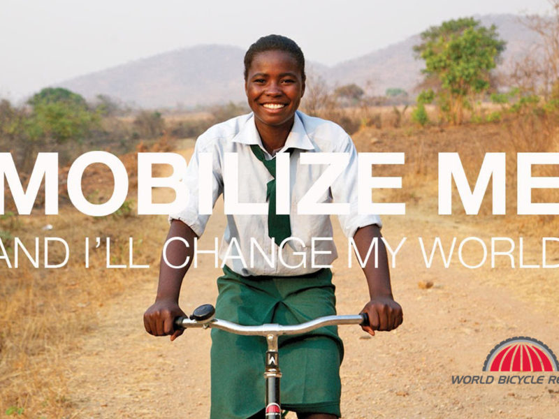 Dec 1st – World Bicycle Relief Fundraiser